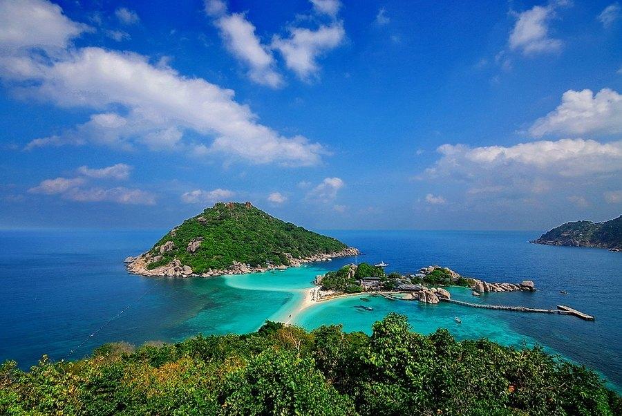 Isla de Koh Nang Yuan, Koh Tao